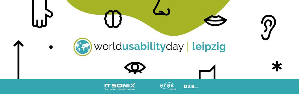 Veranstaltungsbild des World Usability Day in Leipzig; Veranstalter: IT Sonix, HTWK und DZB